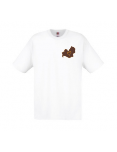 T-shirt Uomo ricamata Love Molise - FoodWays.it