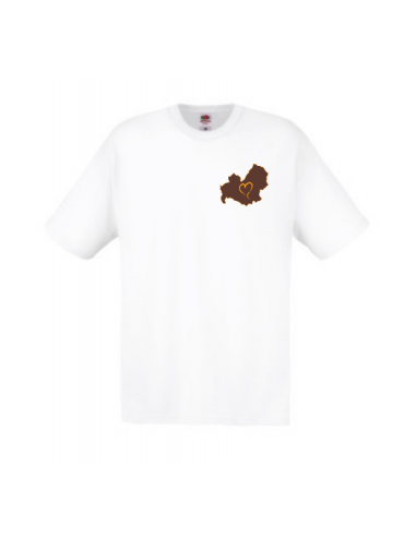 Men's T-shirt embroidered Love Molise