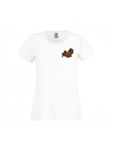 T-shirt Donna ricamata Love Molise - FoodWays.it