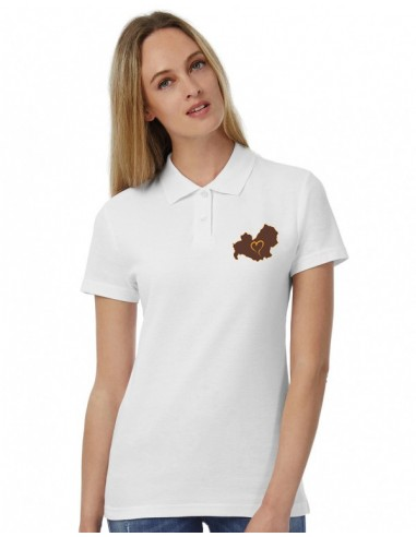 Polo Women's embroidered Love Molise