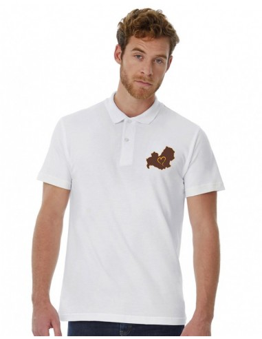 Polo Man embroidered Love Molise