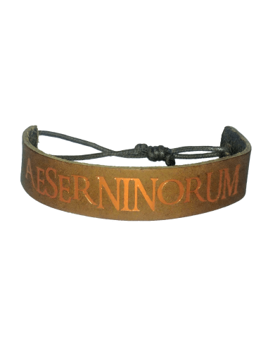 Bracelet handmade leather Aeserninorum