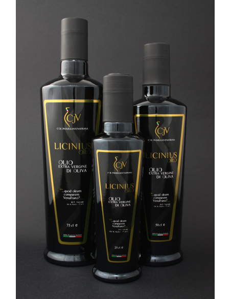 """Extra Virgin olive oil """"Licinius Gold"""" 75cl"""